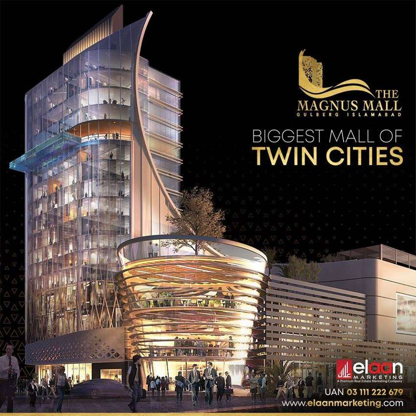 Shop/Unit for Sale in Food Court in The Magnus Mall Gulberg Islamabad 0