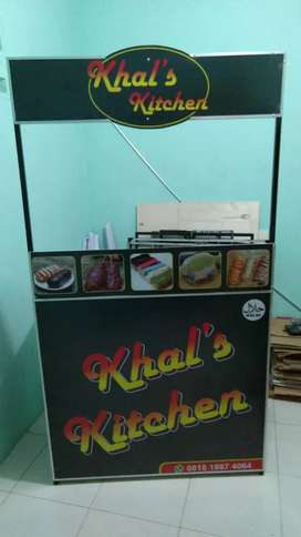 Booth portable 100x50x180 free design&xbanner