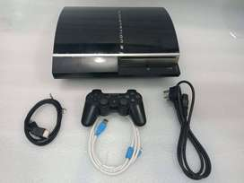 PS3 FAT 500GB COMPLETE 30 GAME WITH ALL NEW ACCESSRIES WITH 1 MONTH WA