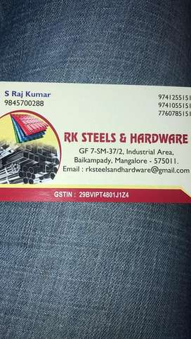 Rk steels and hardware