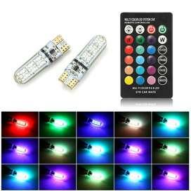 led lampu kota senja bisa warna warni pakai remot
