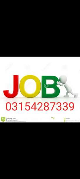 Online and office base  jobs available.