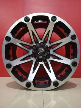 Stock Ready velg KLEAK Hsr Ring20x9 Bisa Buat-pajero fortuner hilux
