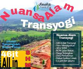 Dijual Tanah Kavling Dekat Dengan Jalan Provinsi Dan Free SHM