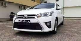 Dijual Toyota Yaris G Manual 2014 Putih Kondisi sangat Baik
