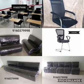 Ergonomic office chairs visitor chairs 3 seaters sofas lounge seats