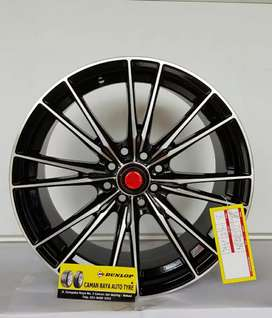 DUNLOP JATIWARINGIN Sale VelgRing 17 Hole 8 Lebar 7,5 Best For Mobilio
