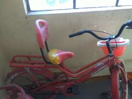 Bicycle good condition 6 month old 4 5 time use only
