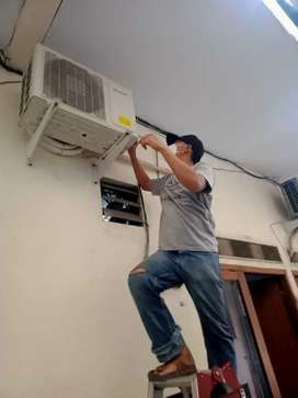 Service Ac kulkas mesin cuci dll bergaransi