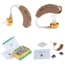 Powertone Earphone Alat Bantu Dengar Pengeras Suara Hearing Aid -F-138