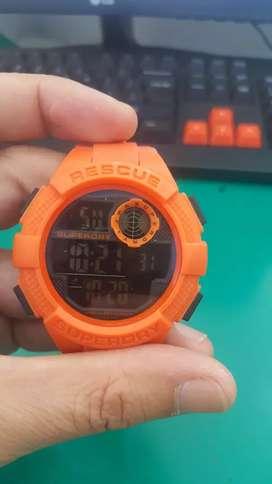 Superdry orange digital