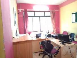 Office 39sqmt Semi-furnished for Rent in Panjim, North-Goa.(17k)