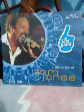CD Lagu  Platinum  Hits  Of Tom  Jones
