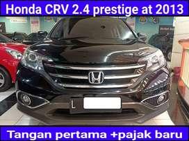 Honda CRV 2.4 prestige Automatic/at 2013 super bagus