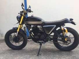 Motor Custom Japstyle scrambler Scorpio