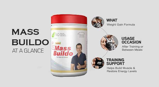 Mass Gainer | Weight Gainer For Fitness, Gym, Whey Protein 0