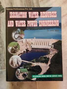 Irrigation Engineering textbooks by BC punmia & P. N Modi