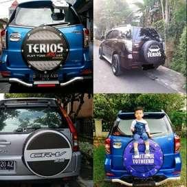 Cover/Sarung Ban taft Daihatsu Terios/Rush/Vitara raining dua puluh  i