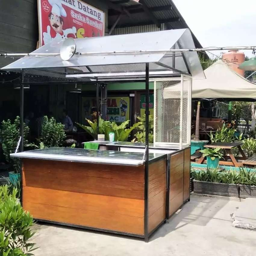 Container booth cafe,booth usaha,booth baso,booth dimsum, booth jualan 0