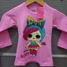 Kaos Lengan Panjang Little S Size 4T