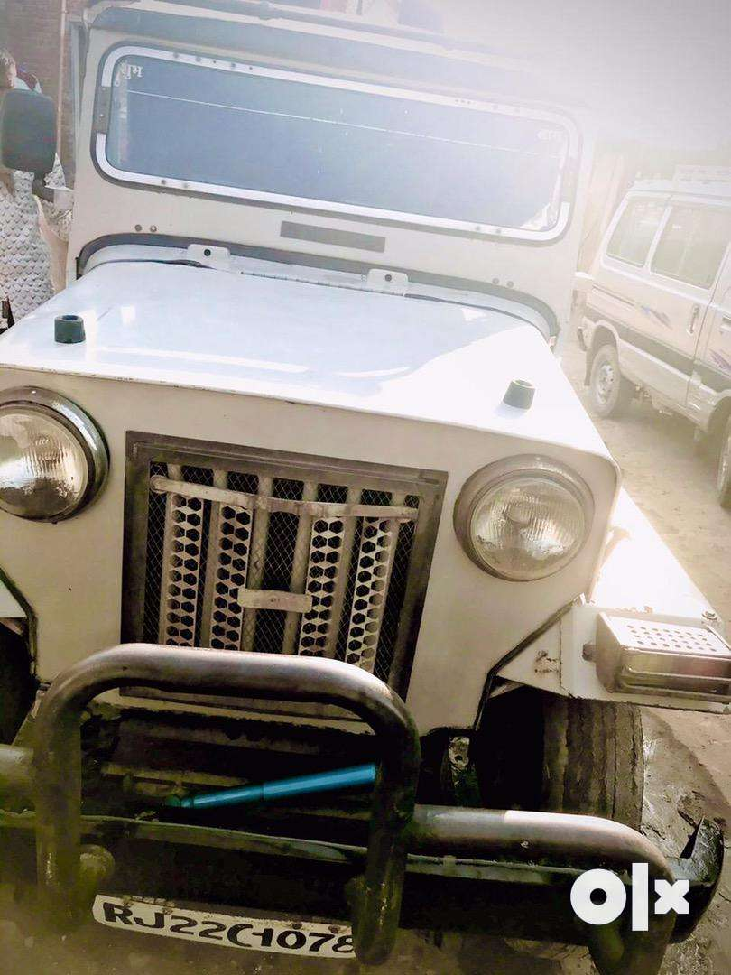 Mahindra commander jeep