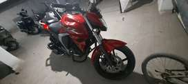 Yamaha FZ 2015 model red color version 2