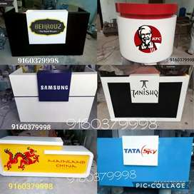 Cash counters reception tables office tables front office desk
