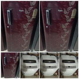 5500/- WASHING MACHINE+FRIDGE+AC DELIVERY FREE 5 YEAR DELIVERY FREE