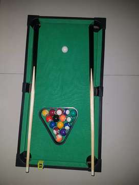Pool table for kids with all things