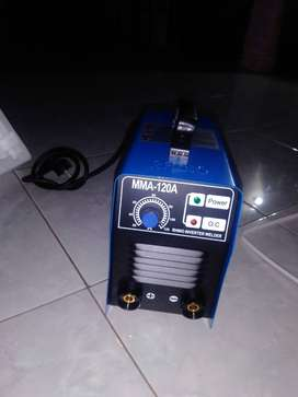 Mesin las ringan 450w up 120A inverter Rhino garansi