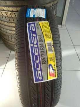 Tersedia ban murah merk accelera 185/70 R14 eco plush