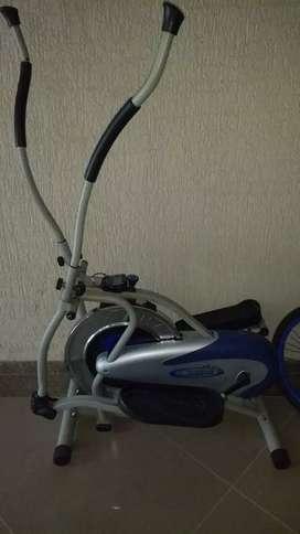 Orbital cycling machine