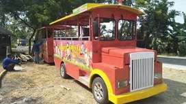 Pancingan odong odong kereta mini coaster RAA