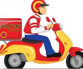 Biker delivery boy job Nerul navi mumbai