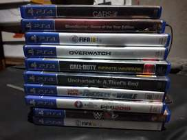 Ps4 cd good condition . All cd nila 2000