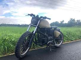 Royal Enfield Classic 500 cc customised