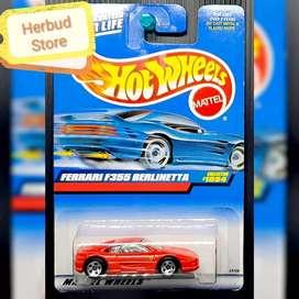 Hot wheels Hotwheels Ferrari F355 Berlinetta Red Merah Rare Collector