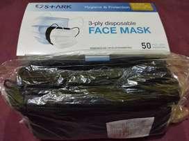 Masker cantol hitam