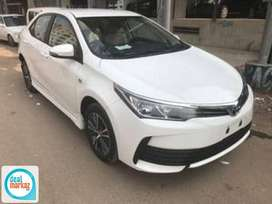 toyota carolla Gli 2018 available on easy monthly installments.