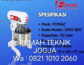 (RUMAH TEKNIK JOGJA)Mixer 10 liter merk FOMAC bergaransi 1 tahun