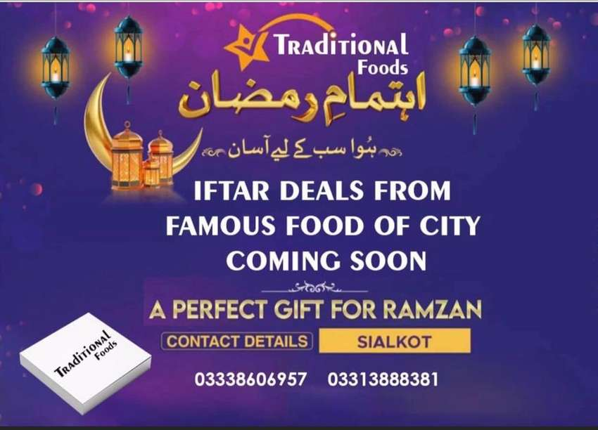 IFTAR DEALS FROM FAMOUS FOOD