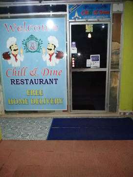 Multi cuisine AC restaurant for sale