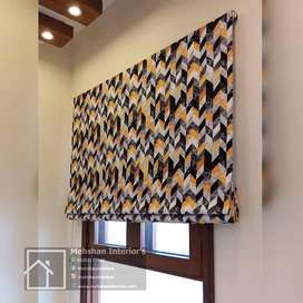 Custom Blinds in geometrical prism style