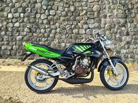 Di jual Kawasaki ninja kips ss komplit pjk jalan AG Trenggalek