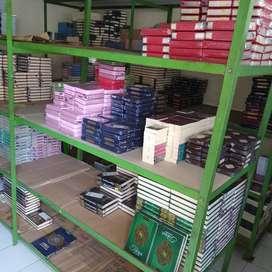 Meneyediakan Berbagai jenis Al Quran, Tilawah, terjemah, Hafalan dll