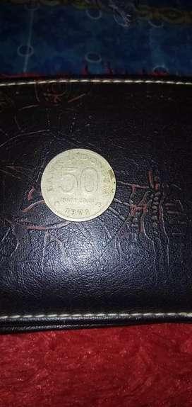 Uang koin 50 kuno