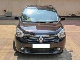Renault Lodgy 110 PS RxL 8 STR, 2015, Diesel