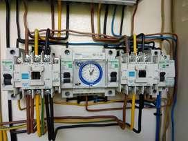 Jasa panggilan Instalasi listrik, pembuatan panel, DLL