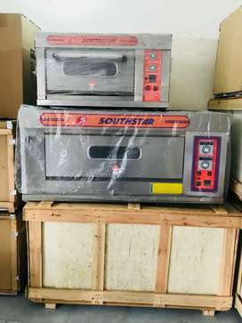 Pizza oven south star , shawarma counter , fryer , delivery bags