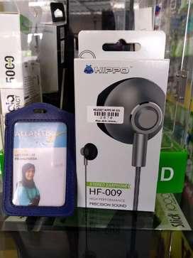 Headset hippo hf-009 streo earphone